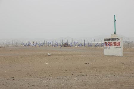 Ingreso a playa Yaya