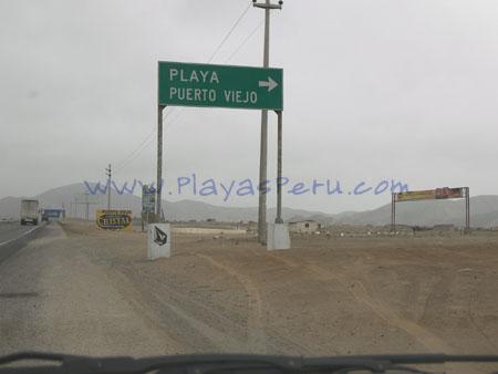 Ingreso a Puerto Viejo