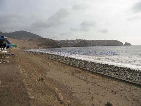 Playa privada del Ejercito - La Tiza